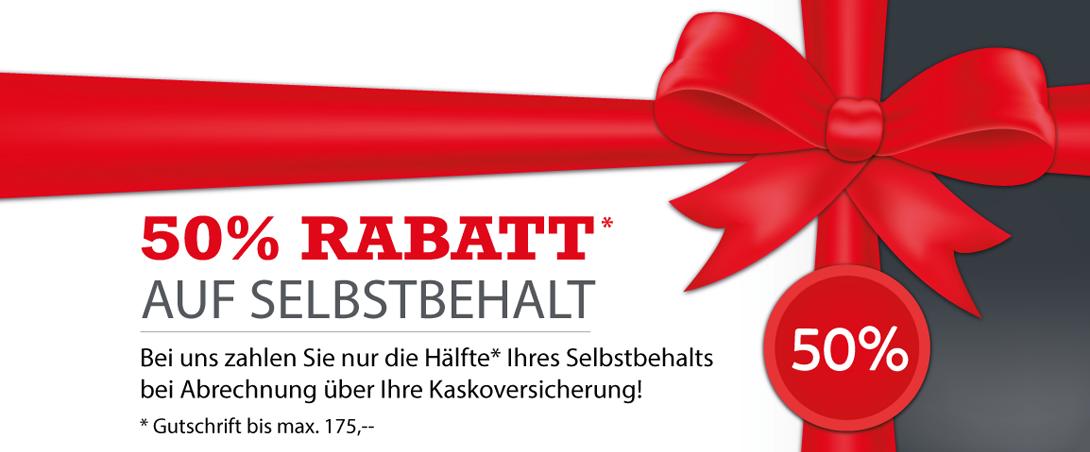 Rabatt Gutschein für Selbstbehalt Auto Bittmann Klagenfurt